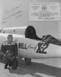 Bell X-2 Capt Iven Kincheloe