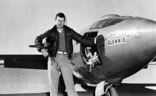 Chuck Yeager and Bell XS-1