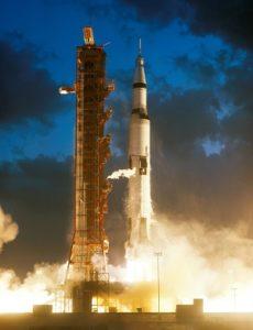 Apollo 4 Saturn V liftoff 2