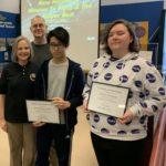 Awards at WNY STEM event
